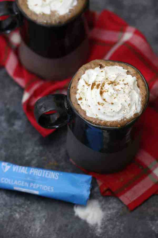 Dairy-free Gingerbread Hot Cocoa | The Real Food Dietitians | https://therealfoodrds.com/dairy-free-gingerbread-hot-cocoa/