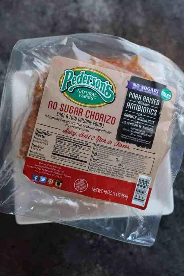 Pederson's Natural Farms No Sugar Chorizo