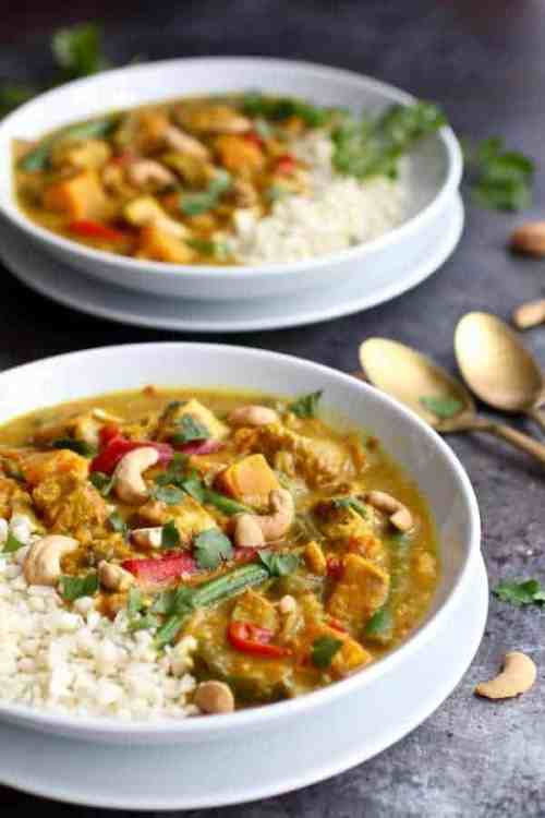 Sweet Potato Chicken Curry | Whole30 Instant Pot Recipes