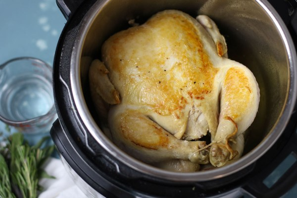 How to Make Instant Pot Bone Broth | The Real Food Dietitians | http://therealfoodrds.com/how-to-make-instant-pot-bone-broth/