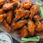 Crispy Baked Buffalo Wings