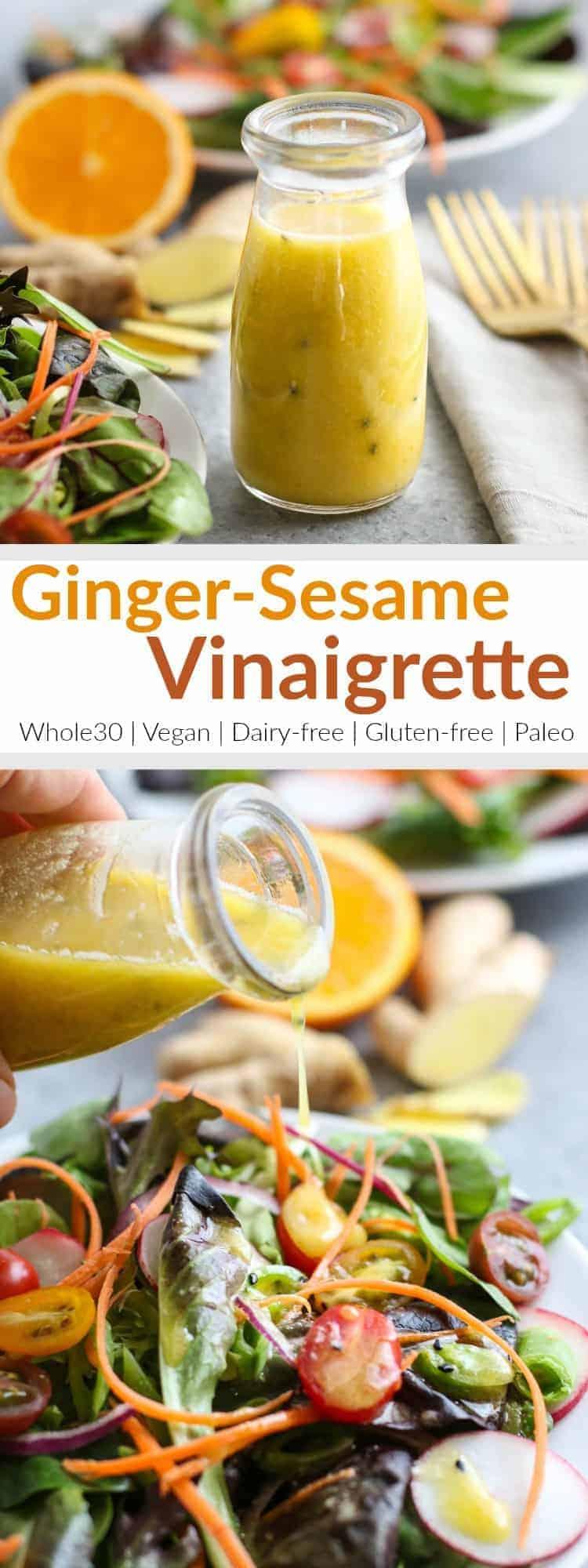Food Network Sesame Ginger Dressing Recipe