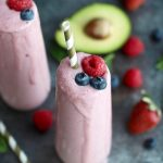 Anti-Aging Banana Berry Smoothie