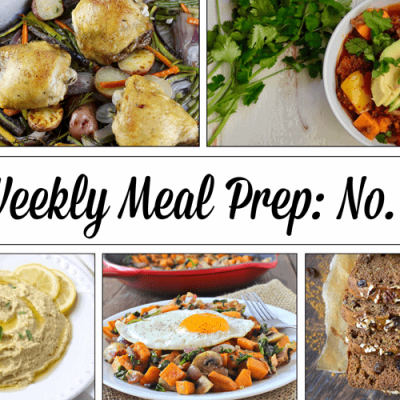 Weekly Meal Prep Menu: No. 3