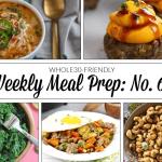 Weekly Meal Prep Menu: No. 6