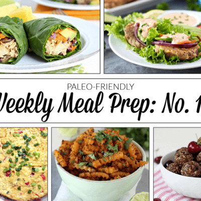 Weekly Meal Prep Menu: No. 10