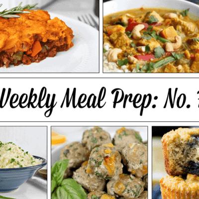 Weekly Meal Prep Menu: No. 7