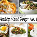 Weekly Meal Prep Menu: No. 9