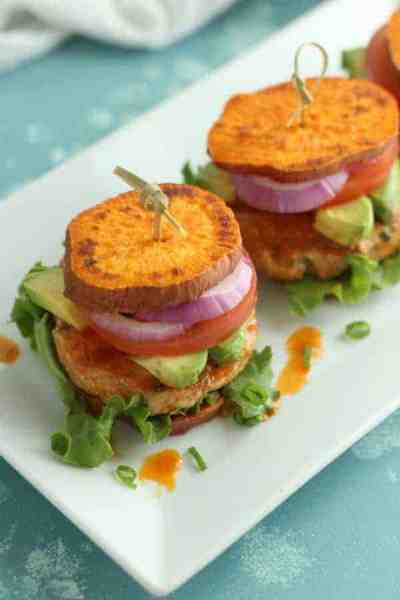 Buffalo Chicken Sliders | 30 Whole30 Appetizers | healthy appetizer recipes | whole30 approved appetizers | gluten-free appetizers | easy healthy appetizers || The Real Food Dietitians #whole30appetizers #whole30recipes #healthyappetizers