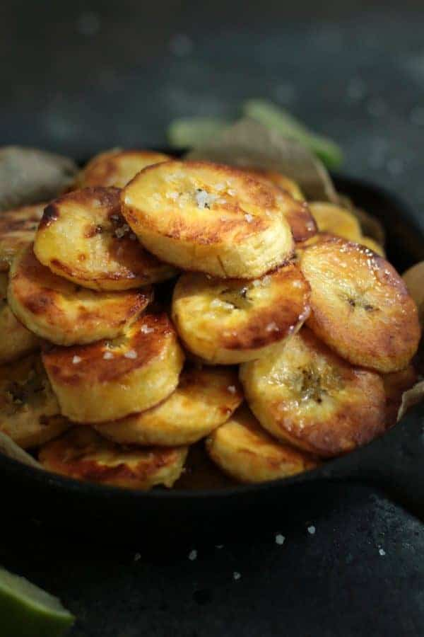 Fried Plantains (Whole30) | The Real Food Dietitians | http://therealfoodrds.com/fried-plantains-whole30/