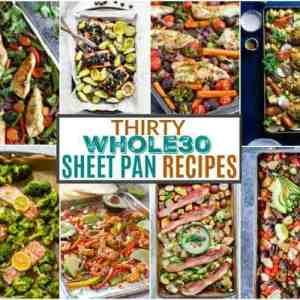 30 Whole30 Sheet Pan Recipes