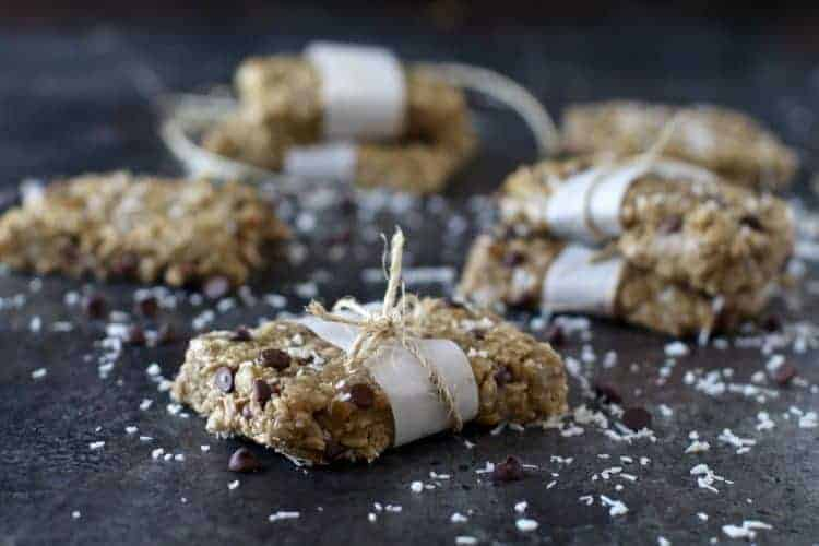 Homemade Chocolate Chip 'Clif Bars'