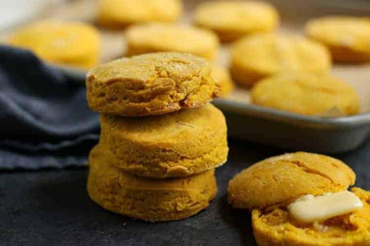 Gluten-free Sweet Potato Buttermilk Biscuits
