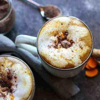 Spiced Golden Milk Hot Cocoa