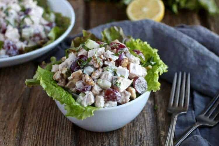 Classic Waldorf Chicken Salad (Whole30)