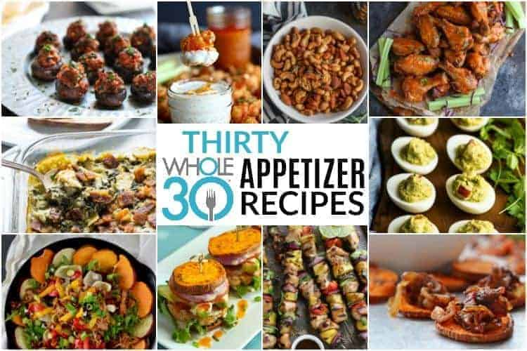30 Whole30 Appetizers