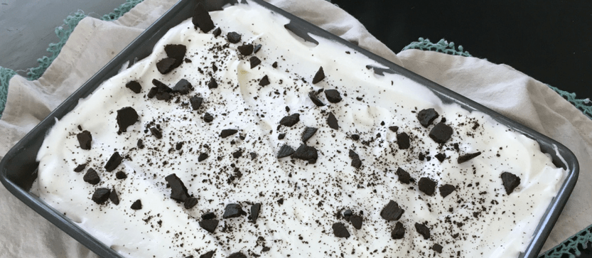 Easy Chocolate Icebox Cake