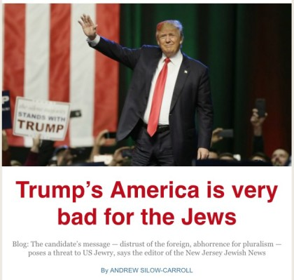 Image result for jews against trump