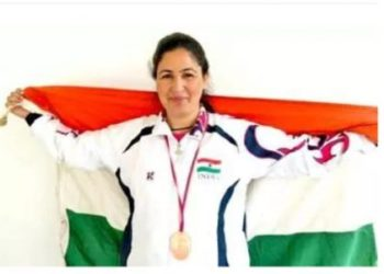 Pride of Kashmir: Jabeena Akhtar from Baramulla is a Wushu Warrior, a coach and a mother