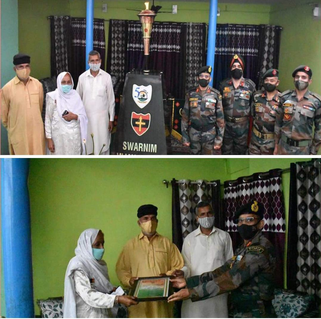Opinion   The Victory flame continues its journey and it was in Rajouri today!