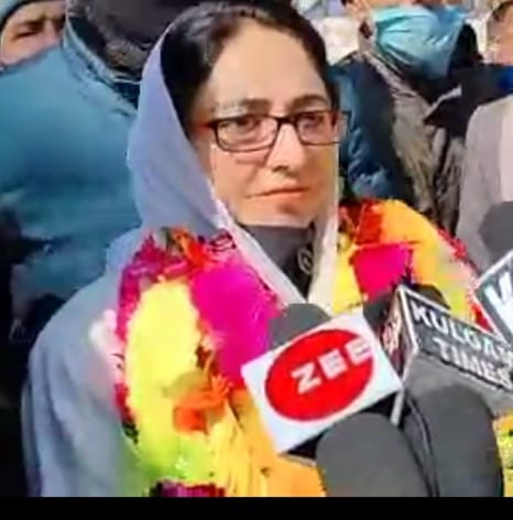 Forest loot has increased manifold during Corona times in J&K: Dr Darakhshan