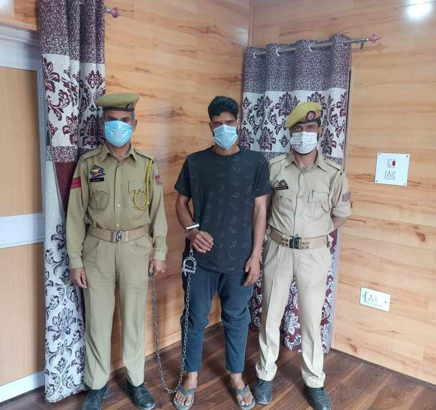 District Police Kulgam Recovered Kidnapped Girl Within 24 Hours & Arrested The Kidnapper