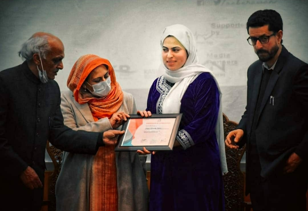 Pride of Kashmir | Zainab Fayaz A kashmiri Girl whose Sole Wish is To End Dowry