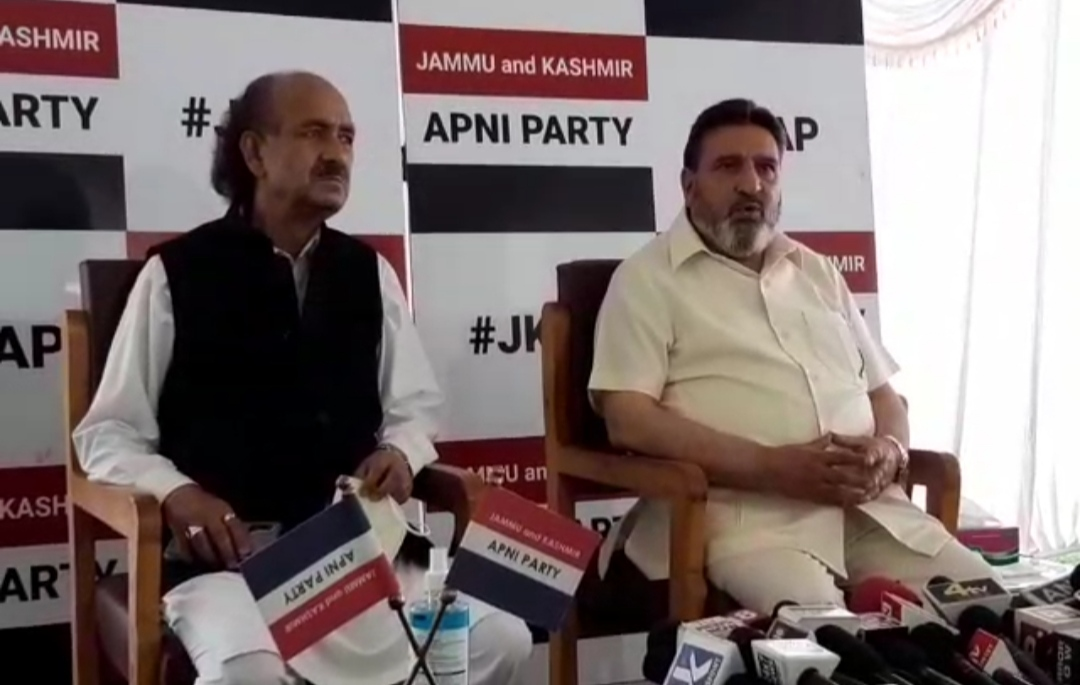 Apni Party President and Former Minister Syed Altaf Bukhari Said that the Statements Given by the leaders Were different than What was Discussed in June 24 Meeting