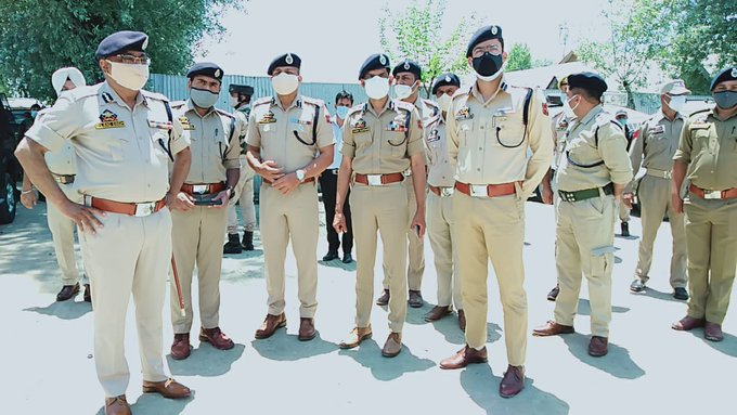 DGP Dilbag Singh visits Police Component in Sopore