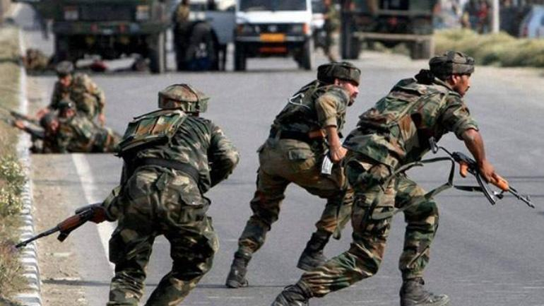 Two Hizbul Militants killed in an encounter in Krew area of Pampore, Operation on
