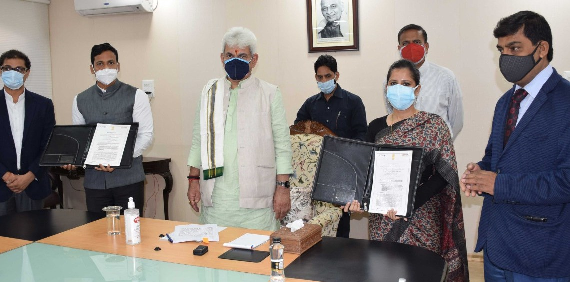 JK Govt signs MoUs with PARC-Policy Advocacy Research Centre