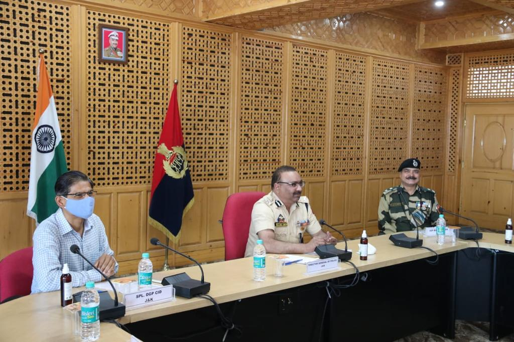 DGP chairs high level meeting of officers at PHQ
