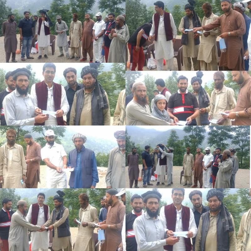 AMB society in collaboration with AYUSH department Poonch distributes immunity booster medicines at Kira Muriya of Tehsil Mandi