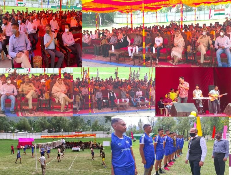 Karnah Premier Volleyball league inaugurated by Shakti Vijay Brigade and All JK Youth Society