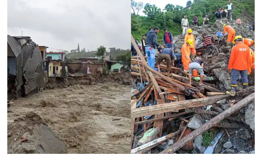Four persons were killed, 36 others are missing and feared dead in a cloud burst in Kistwar District