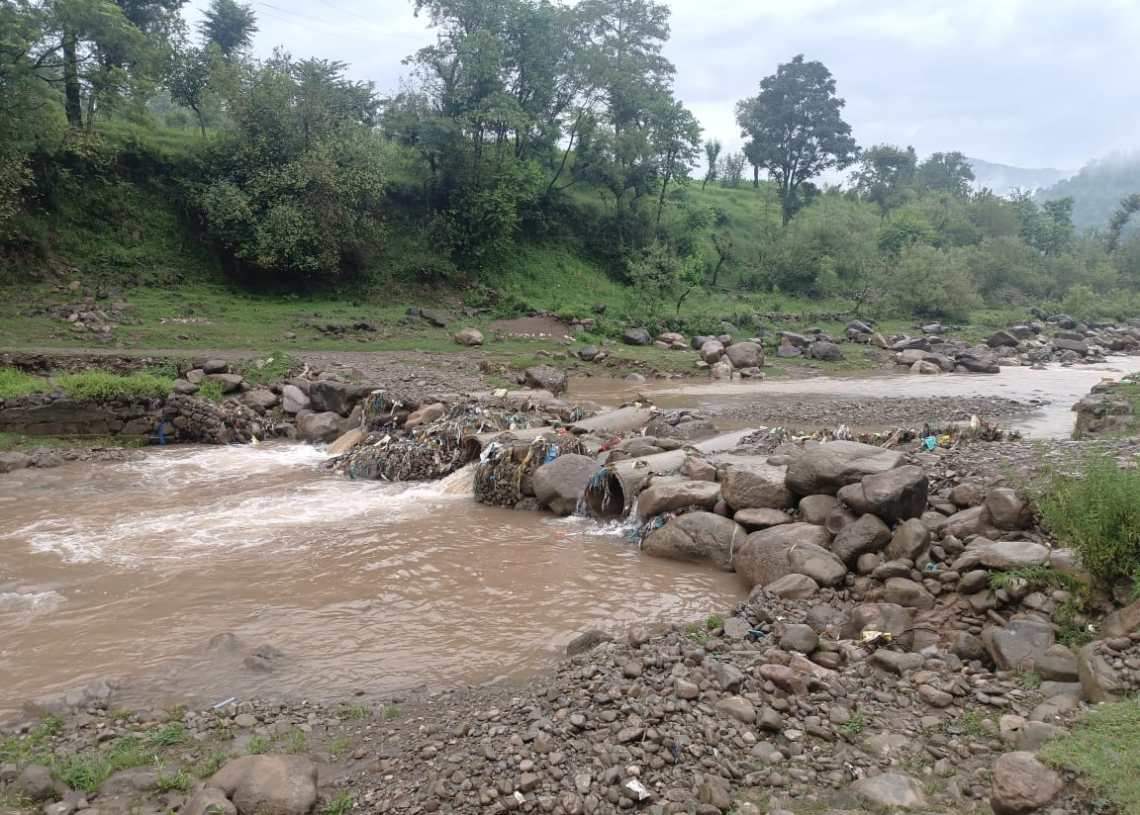 Culvert on Harni-Kasiote Road Washed Away Due to Floods