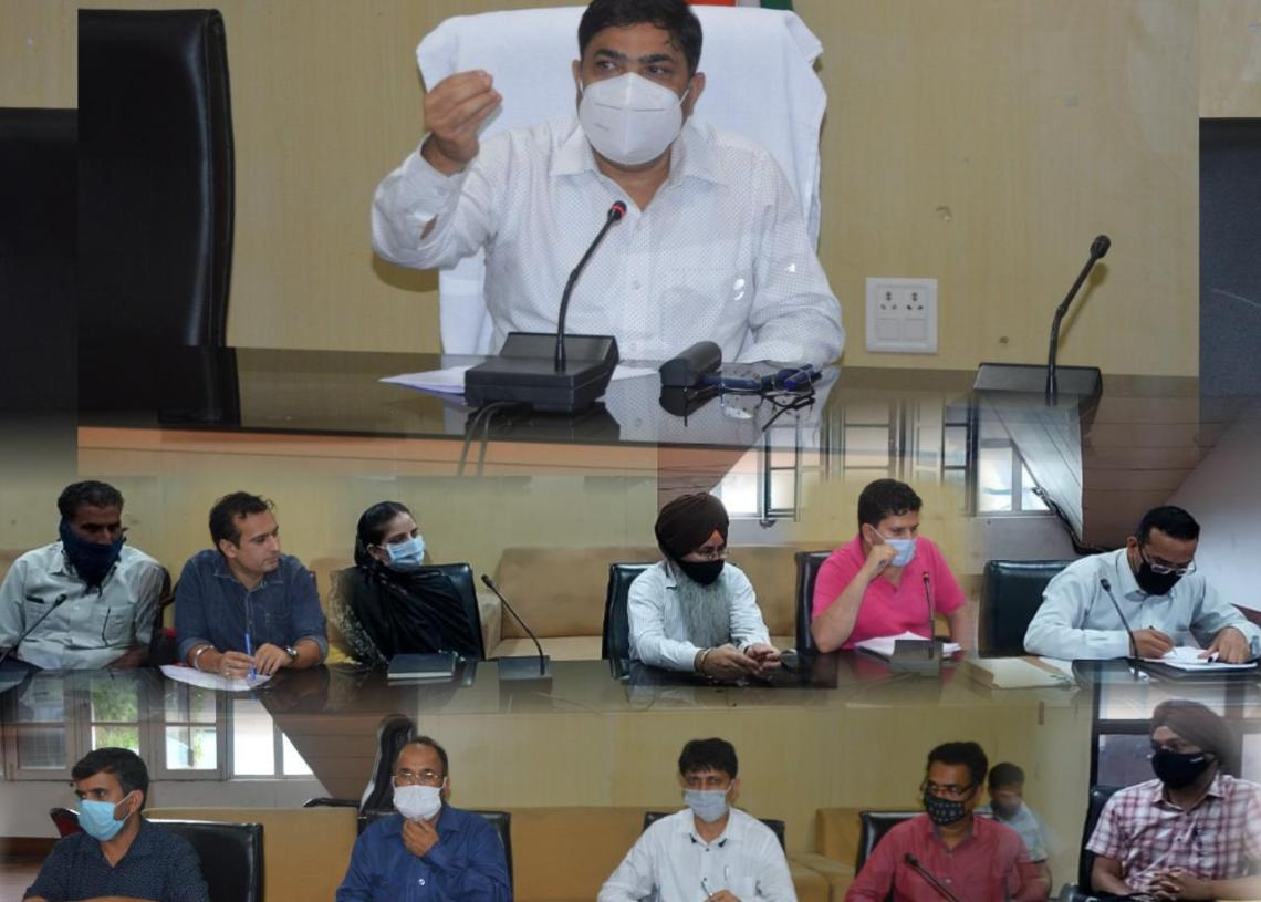 Poonch Admin starts formulation of Export plan, DC discusses modalities in EPC meeting