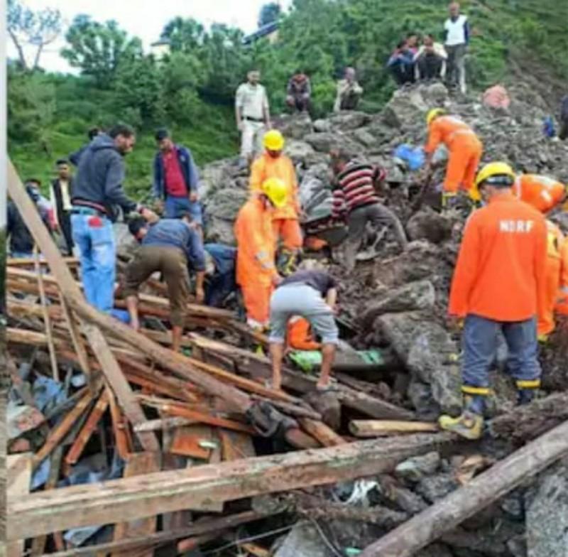 Kishtwar Cloud Burst : Bodies of five persons have been recovered while 12 persons have been rescued in injured condition, 25-26 Still Missing