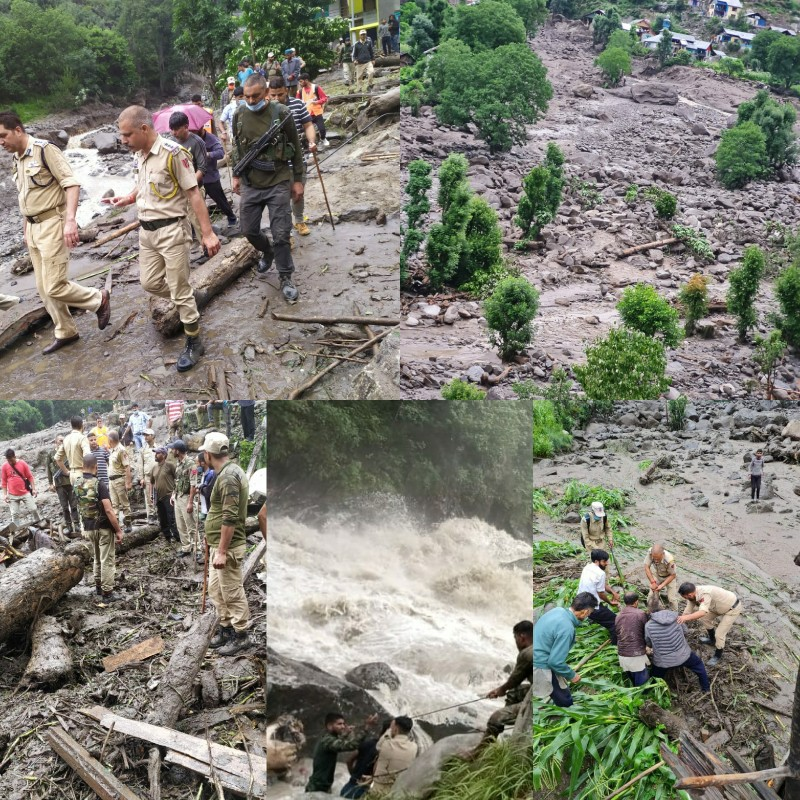 7 Persons Killed, 19 Missing As Cloudburst Hits Kishtwar Village