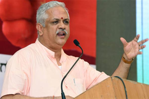 Be ready for assembly elections: BJP's Santosh tells J&K party cadre