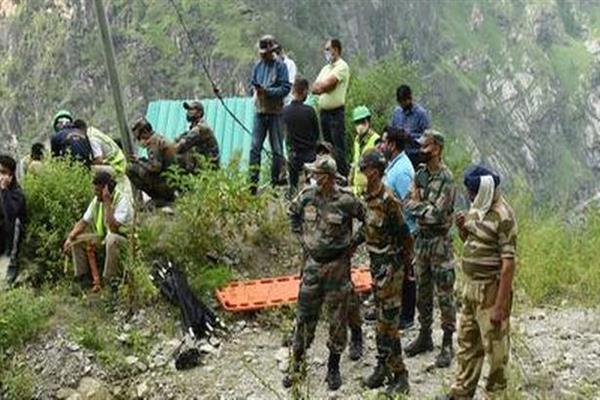Rescue work resumed at landslide site in Himachal Pradesh's Kinnaur