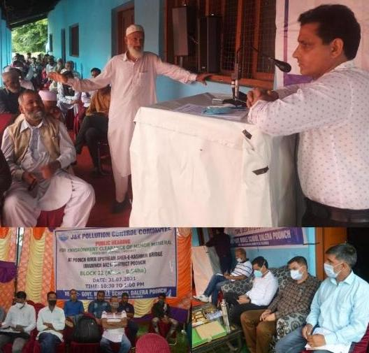 Poonch Administration starts Public hearing for Minor Mineral Blocks