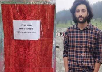 Pride of kashmir   21-years-old Syed Ubiad Bashir, a son of tailor, and an engineer who transforms a Simple Storage trunk into fully working refrigerator