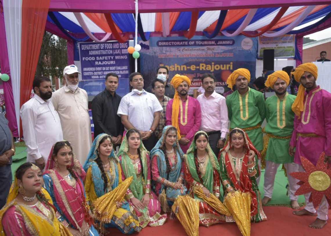 Azadi Ka Amrit Mahotsav: Two days mega cultural cum tourism promotion fest 'Jashn-E-Rajouri' begins in Rajouri