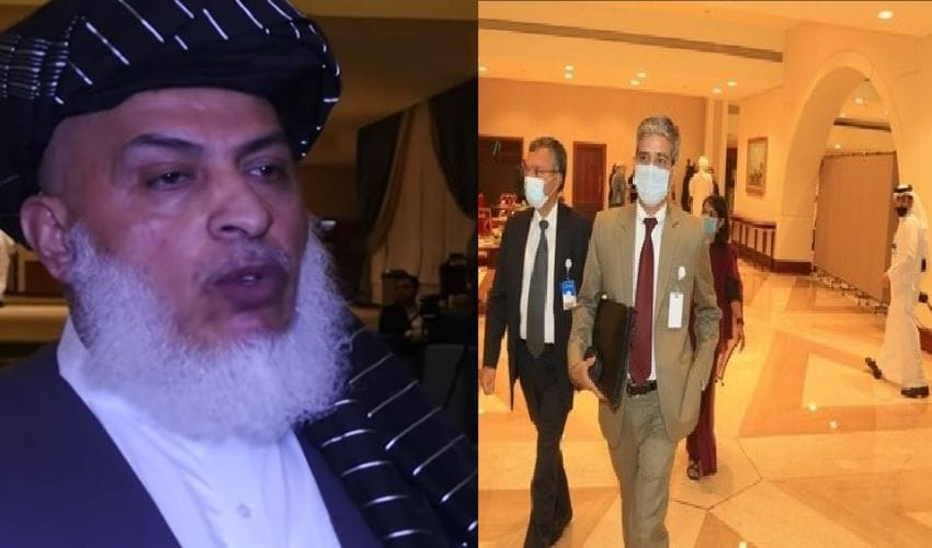 India won't tolerate terrorism on its soil   India Taliban first meeting at Doha