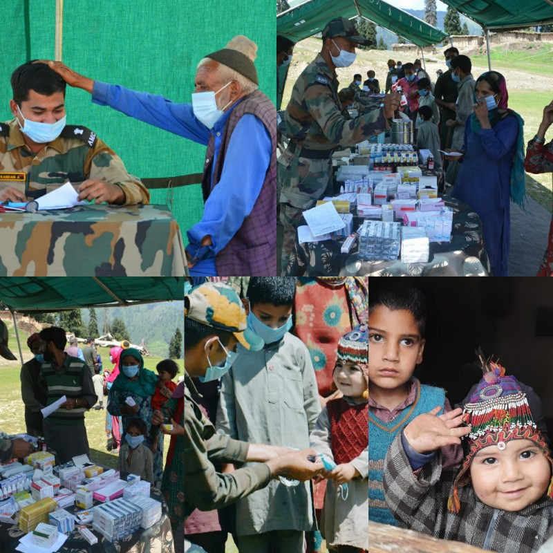 Army organises medical camp for LOC residents