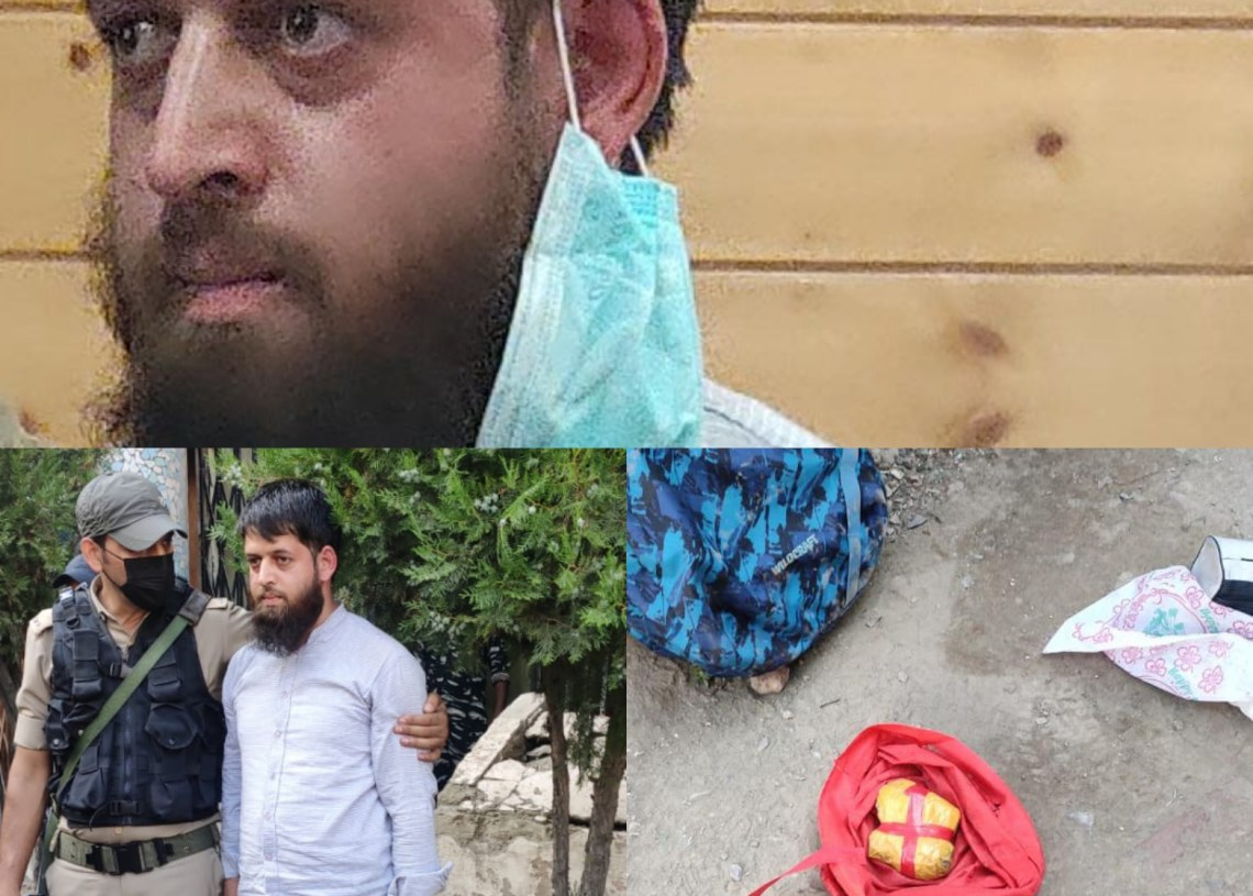 2 men incl. 1 journalist arrested with grenades | Possible suspects in Hari Singh Grenade attack