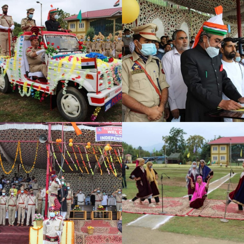 75th Independence Day celebrated in Handwara