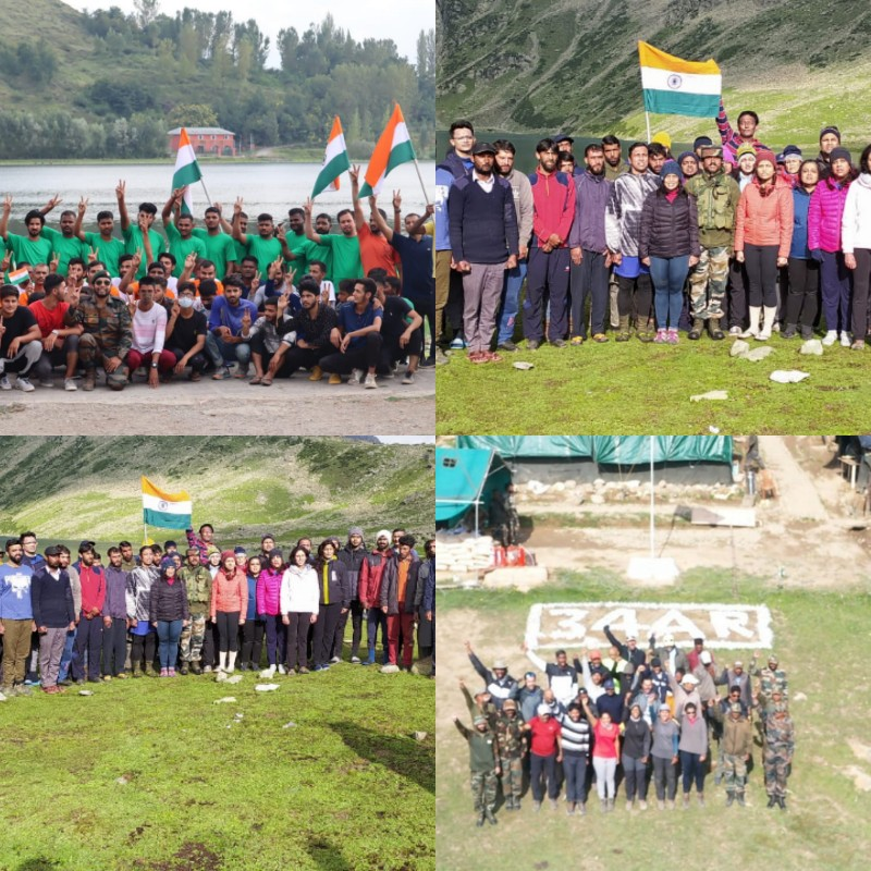Independence Day Celebrations: Army Goodwill School, Margung