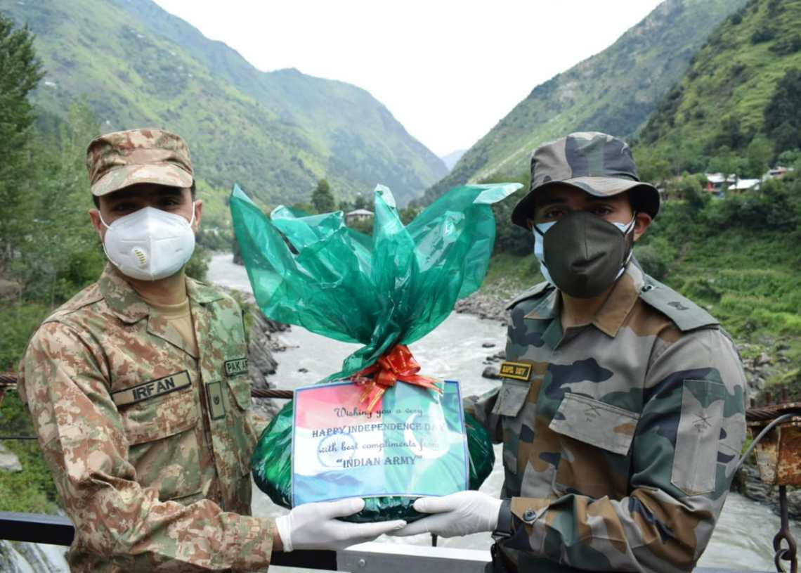 Indian Army Extends a Gesture of Friendship at Chilehana Teethwal in Kupwara